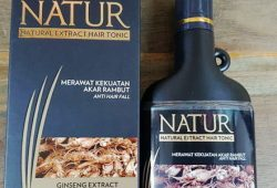 Harga Nature Hair Tonic (Ginseng & Aloe Vera)