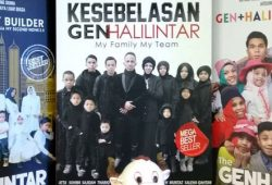 Harga Buku 'Kontroversial' Gen Halilintar: My Family My Team