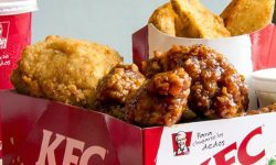 Update Harga Menu Paket Big Box Value KFC