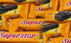 Harga Wafer Superstar (Eceran, 1 Pack, 1 Dus, 1 Karton)