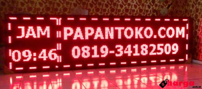 papan iklan led display - www.papantoko.com