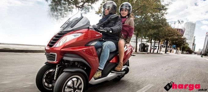 Harga Tiga Skuter Matik Peugeot di Indonesia