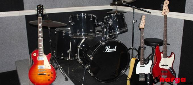 Info Terbaru Harga Satu Set Alat Band Pro Studio Lengkap Dan Murah