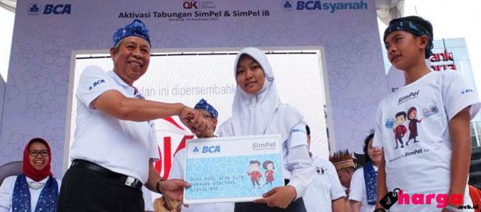 Tabungan SimPel BCA - m.bandungnewsphoto.com