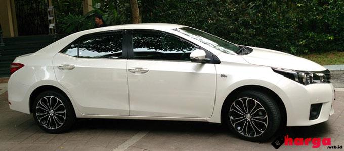 Spesifikasi Dan Harga Toyota Corolla Altis Baru Dan Bekas Daftar Harga Tarif
